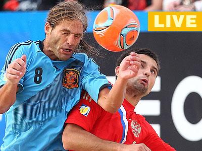 Пляжный футбол. Евролига-2013. Россия - Испания