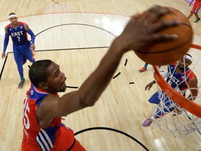 Дюрант - о поражении в финале НБА и победе на ОИ