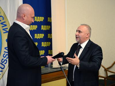 Игорь Лебедев получил чёрный пояс