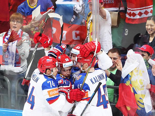ЧМ-2016. Россия – Казахстан – 6:4. 8 мая 2016. Отчёт матча, фото, видео
