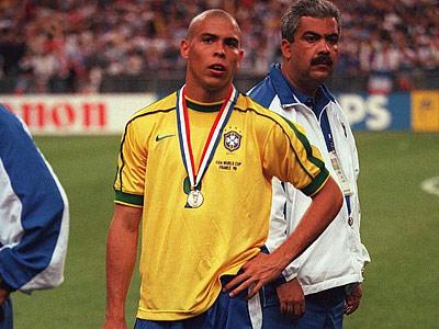 Роналдо после финала ЧМ — 1998