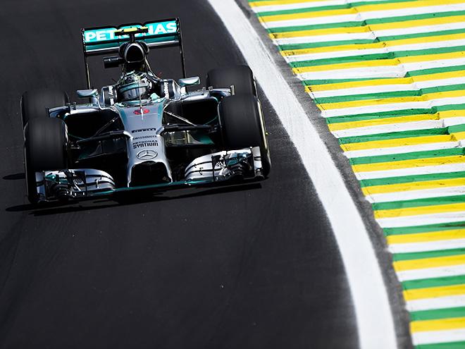 Нико Росберг завоевал поул Гран-при Бразилии