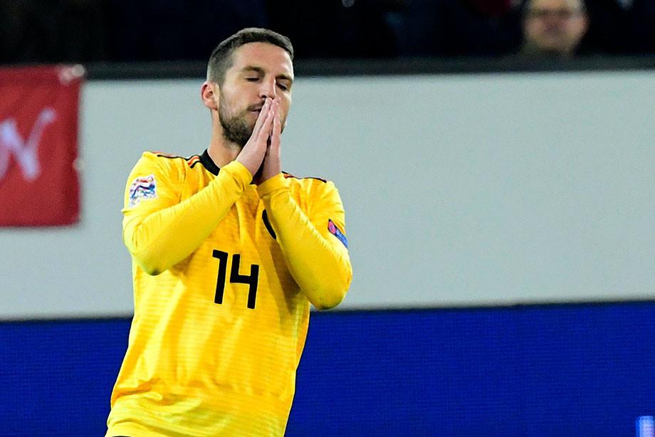 Швейцария начала с 0:2 и уничтожила Бельгию