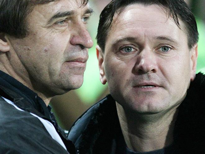 Александр Бородюк и Дмитрий Аленичев