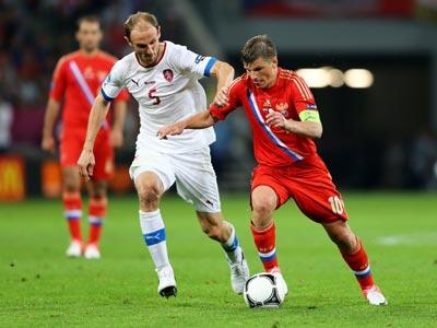 Матч Россия – Чехия худший по популярности