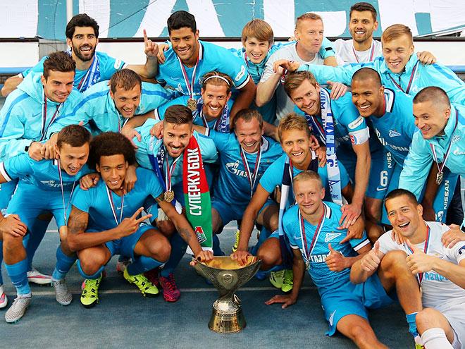 ФК «Зенит» — обладатель Суперкубка России — 2015!