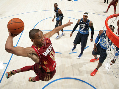 Сборная Запада выиграла Матч звёзд НБА - 2012