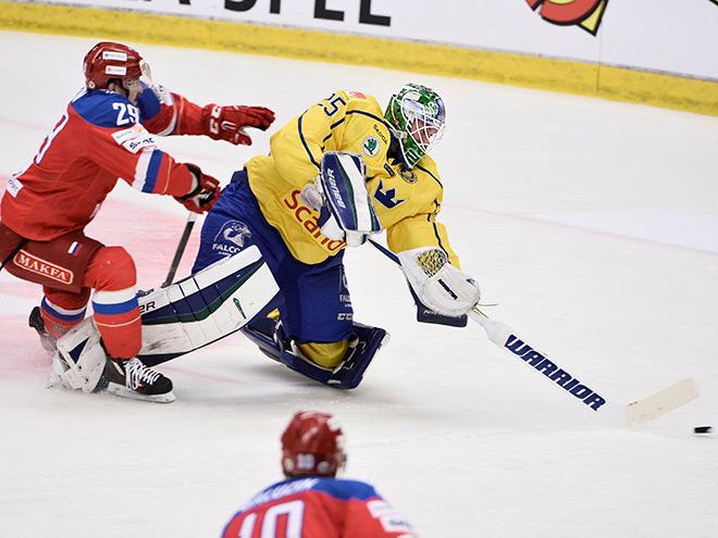Швеция — Россия — 4:1
