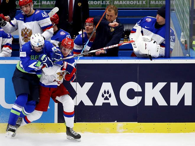 Чемпионат мира - 2015. Россия – Словения – 5:3