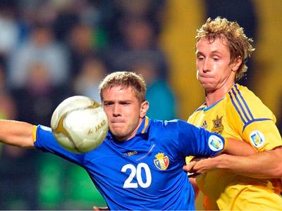 Молдавия – Украина – 0:0