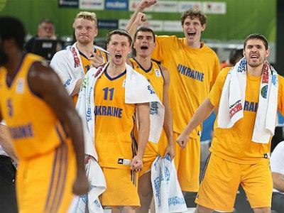 Украина пробилась на чемпионат мира
