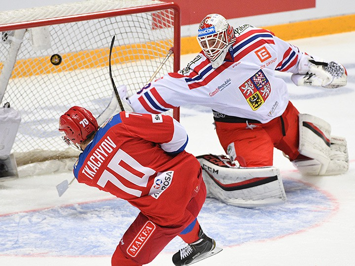 хоккей россия чехия когда