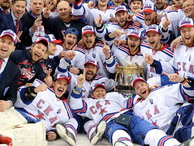СКА выиграл у «Ак Барса» и стал чемпионом КХЛ