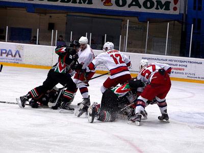 Семь матчей регулярного чемпионата ВХЛ