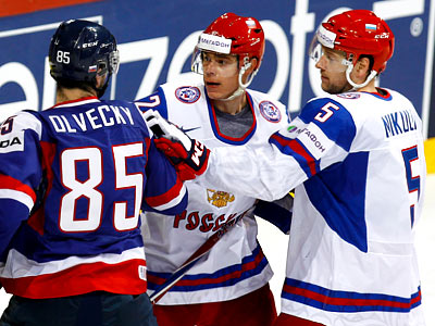 Евгений Медведев и Илья Никулин