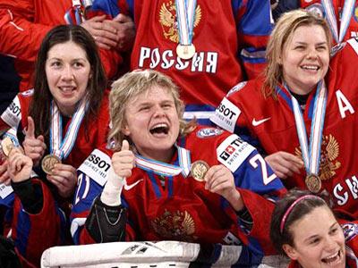 Женская сборная России - бронзовый призёр ЧМ