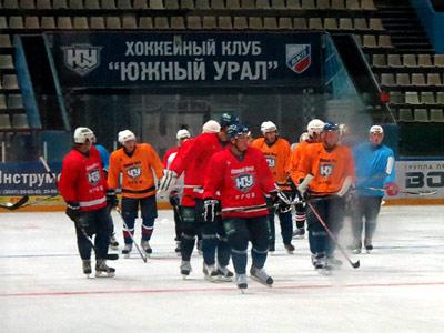 Началась ледовая подготовка «Южного Урала» к новому сезону