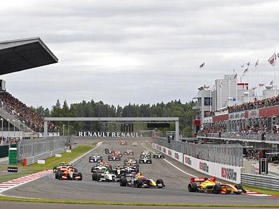Вандорн выиграл первую гонку WSR в России