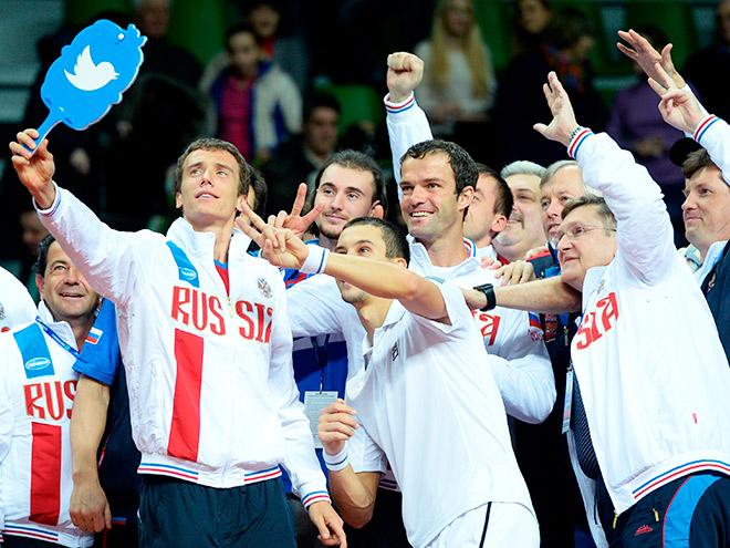 Сборная России досрочно выиграла матч Кубка Дэвиса