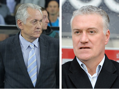 Тренерские успехи Фоменко и Дешама