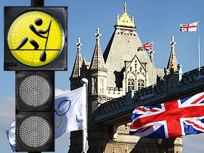 """Лондонский светофор"". Гребля на байдарках и каноэ"