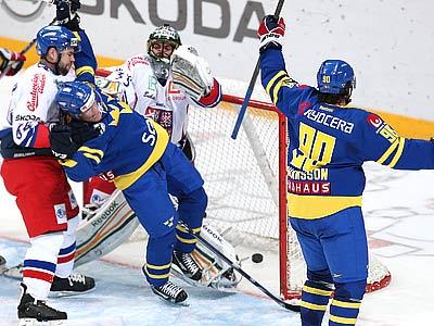 Сборная Швеции обыграла чехов – 4:0