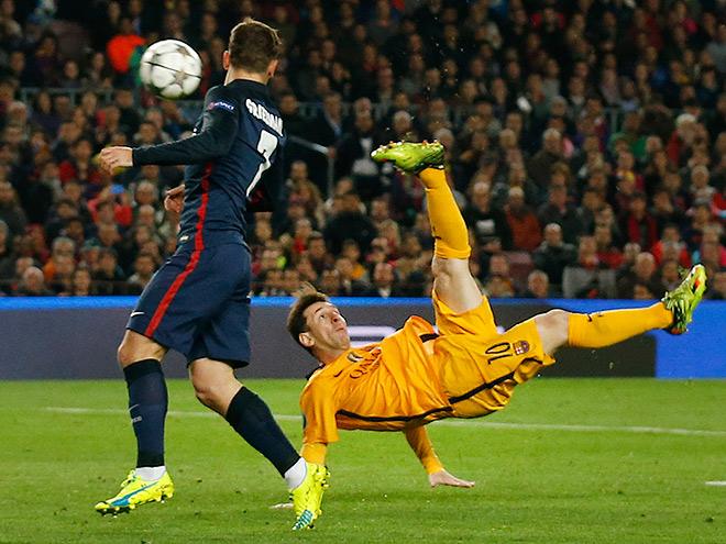 По результатам  первого тайма вполуфинал Лиги чемпионов проходят «Атлетико» и«Бавария»