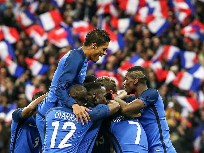 Франция – Россия - 4-2. 29 марта. Обзор матча