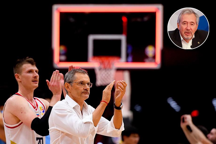 Чемпионат мира по баскетболу 2019, Тараканов – о Базаревиче и Фридзоне