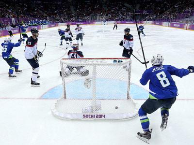 Сочи-2014. Хоккей. Словакия - Словения - 1:3