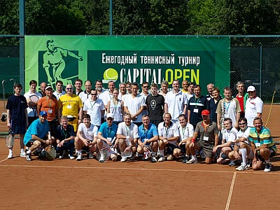 Capital Open выявил лучших банкиров-теннисистов