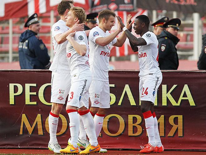 «Мордовия» — «Спартак»