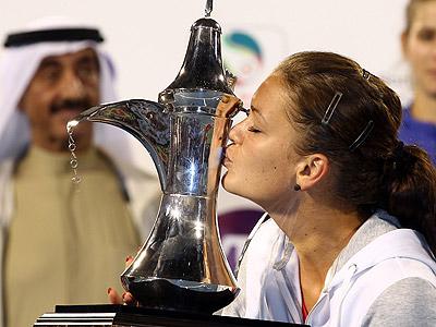 Успехи А. Радваньской, дель Потро, Донского и страсти в WTA