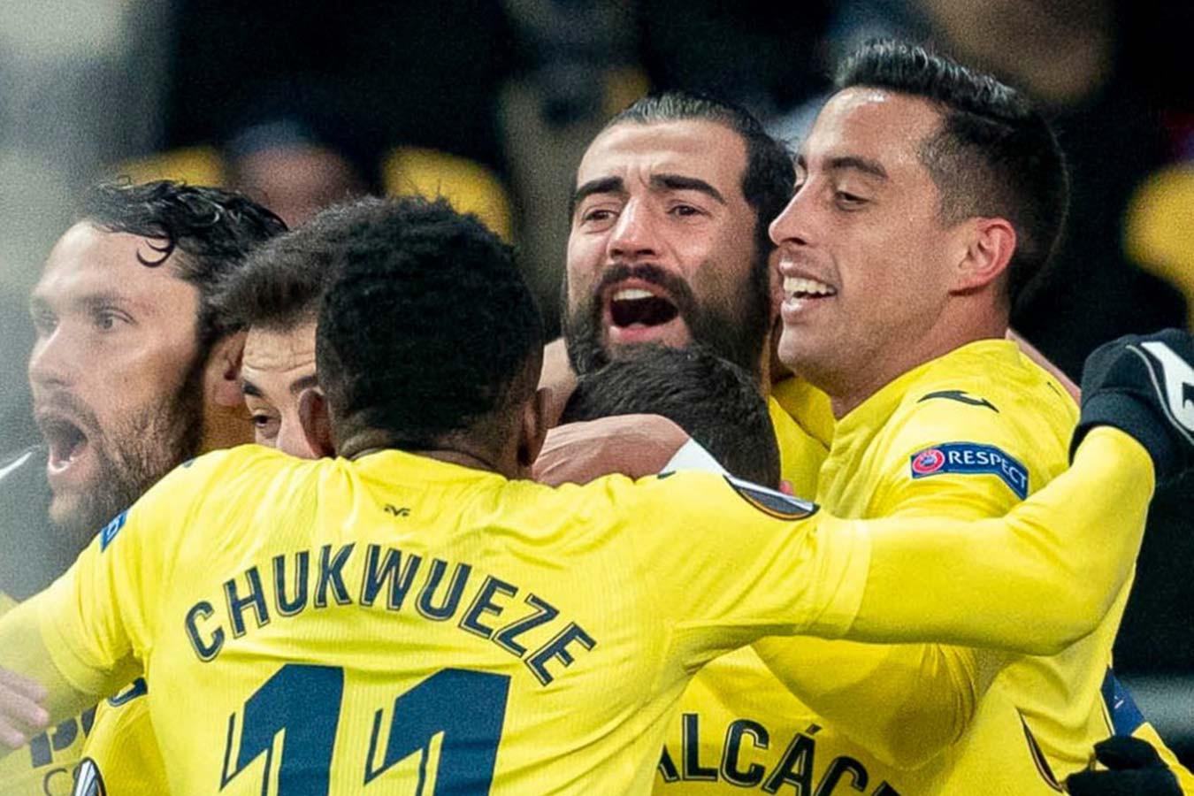 Вильярреал переиграл киевское Динамо в первом матче 1/8 финала Лиги Европы