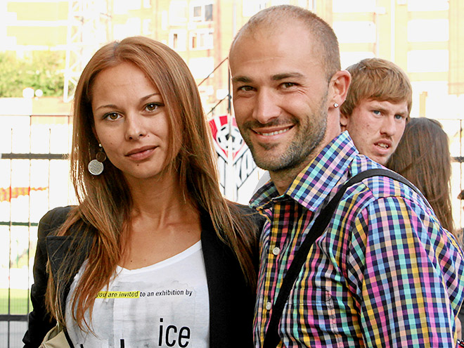 Георги Пеев с девушкой