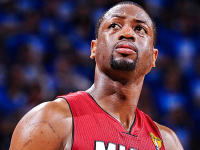 Уэйд проводит вторые половины матчей плей-офф-2012, как Джордан