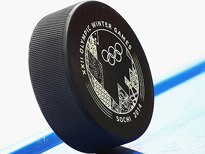 Олимпиада в Сочи. Шайба