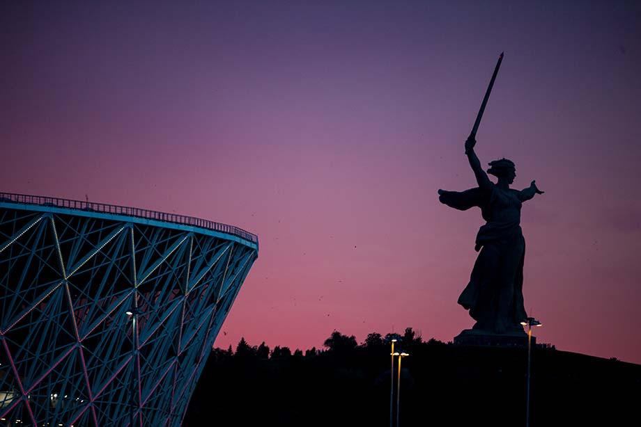 ФНЛ. Стадион в Волгограде
