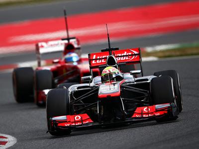 Команды Формулы-1 после Барселоны и перед ней