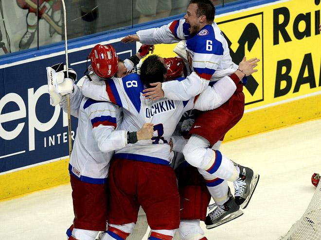 Россия - чемпион мира по хоккею 2014 года