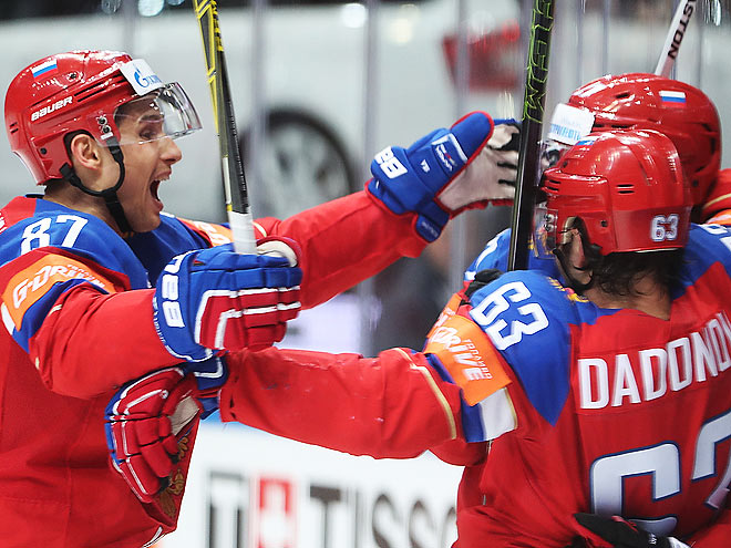 ЧМ-2016. Россия – Швеция – 4:1