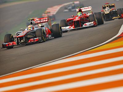 Анализ выступления команд Формулы-1 в Индии