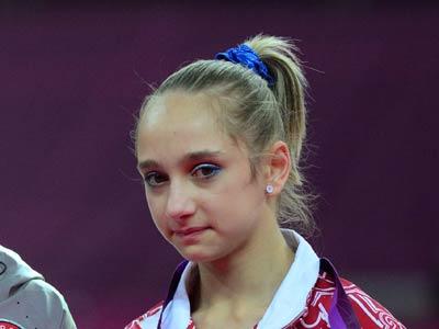 Лондон-2012. Гимнастика. Виктория Комова
