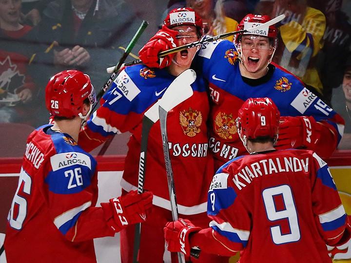 россия швеция 2017 хоккей матч
