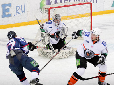Итоги игрового дня КХЛ. 24 февраля 2012 года. Часть третья