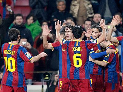 """""""Реал"""" не выдерживает темп """"Барселоны"""""""