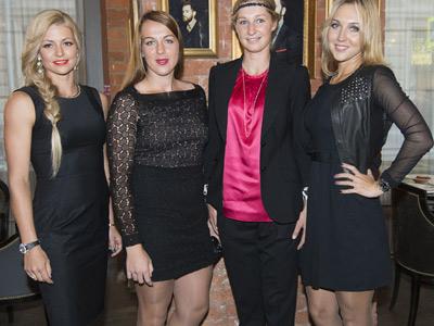 Кириленко, Павлюченкова, Макарова и Веснина