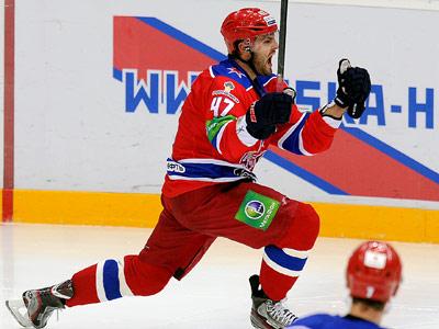 Александр Радулов принёс победу ЦСКА