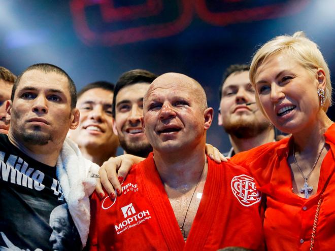 Фёдор Емельяненко победил Фабиу Мальдонаду по очкам