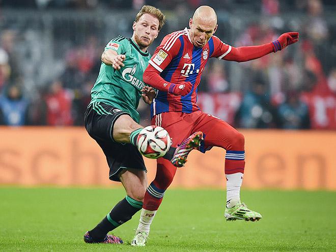 «Бавария» — «Шальке-04». Обзор матча — 1:1